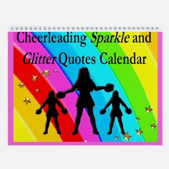 Cheering Rainbow Wall Calendar