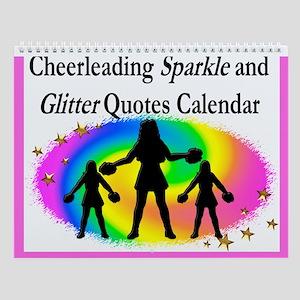 Cheering Girl Wall Calendar