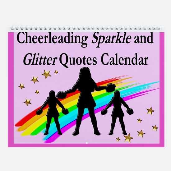 Cheering Sparkle Wall Calendar