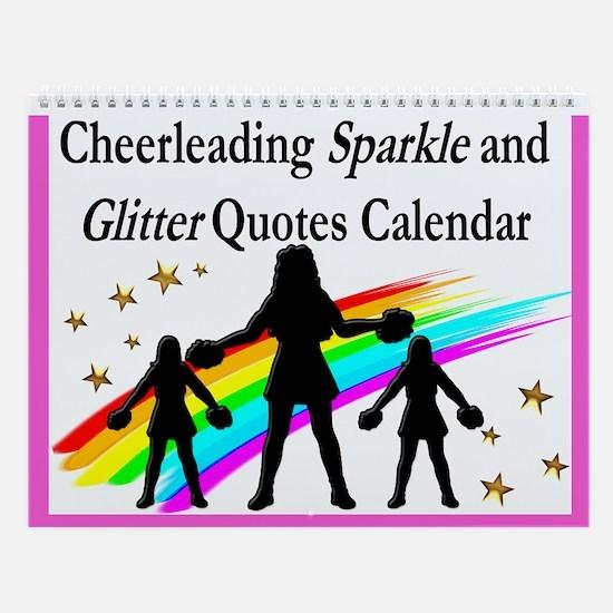 Cheer Sparkle Wall Calendar