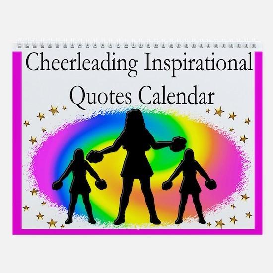 Cheerleader Wall Calendar