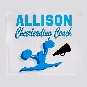 CHEERING COACH Throw Blanket