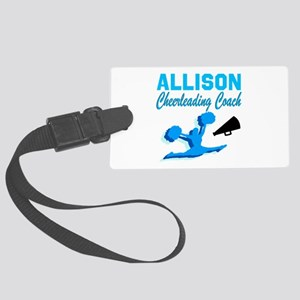 CHEERING COACH Large Luggage Tag