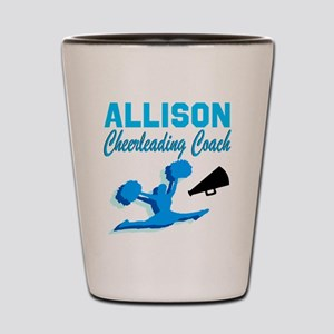 CHEERING COACH Shot Glass