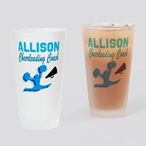 CHEERING COACH Drinking Glass