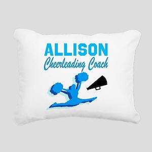 CHEERING COACH Rectangular Canvas Pillow