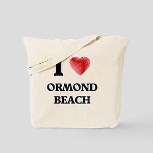 I love Ormond Beach Florida Tote Bag