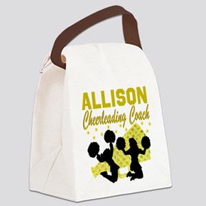 CHEERING COACH Canvas Lunch Bag