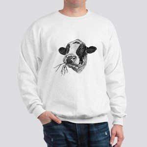 Happy Holstein Friesian Dairy Cow Jumper