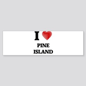 I love Pine Island Florida Bumper Sticker
