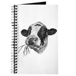 Happy Holstein Friesian Dairy Cow Journal