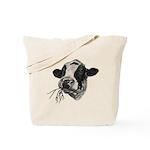 Happy Holstein Friesian Dairy Cow Tote Bag