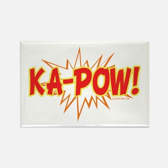 Ka-Pow Rectangle Magnet (10 pack)