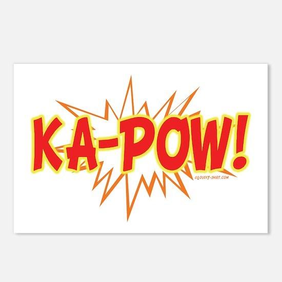 Ka-Pow Postcards (Package of 8)
