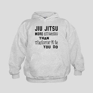 Jiu-Jitsu more awesome than whatever i Kids Hoodie