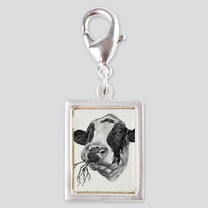 Happy Holstein Friesian Dairy Cow Charms