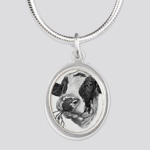 Happy Holstein Friesian Dairy Cow Necklaces