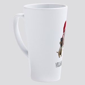 Village Puggles 17 oz Latte Mug