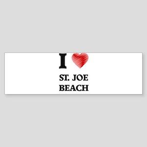 I love St. Joe Beach Florida Bumper Sticker