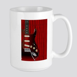 Quality Wood Guitar Mugs