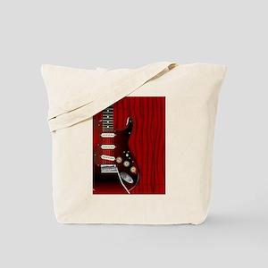 Quality Wood Guitar Tote Bag