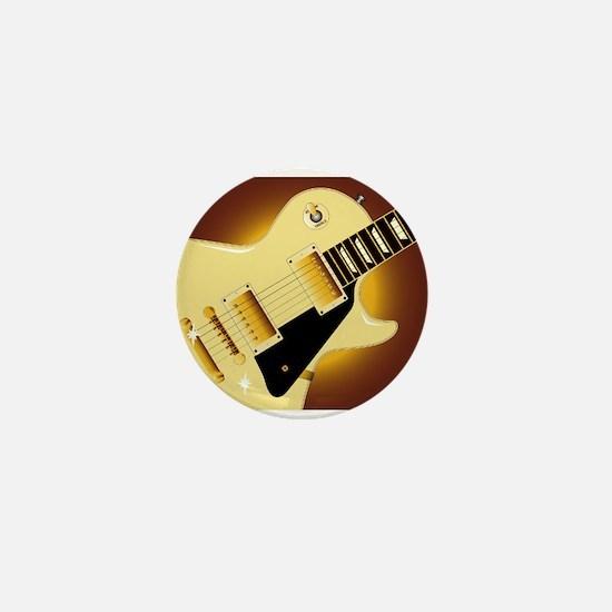 Guitar Close Up Mini Button