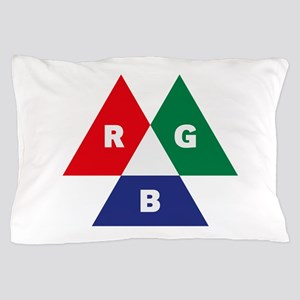 RGB Mode (Red - Green - Blue) Pillow Case