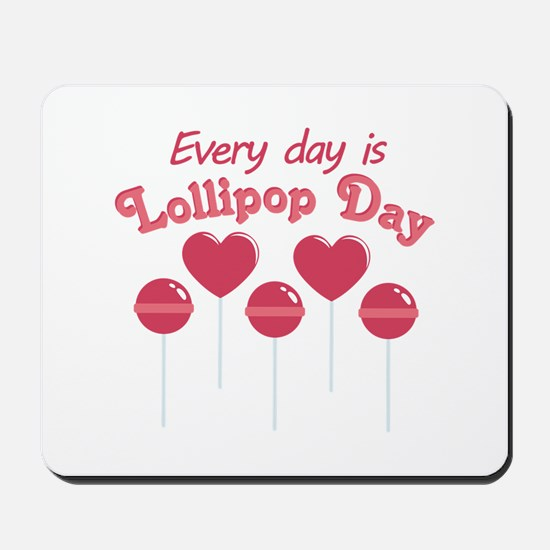 Lollipop Day Mousepad
