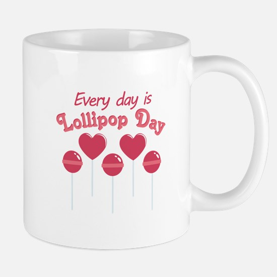 Lollipop Day Mugs