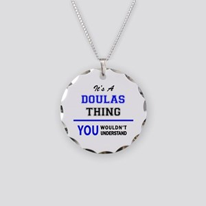 It's a DOULAS thing, you wou Necklace Circle Charm