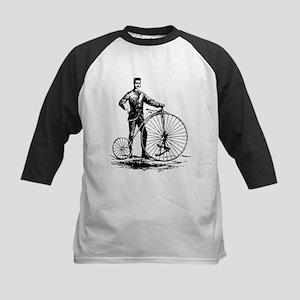 Antique bicycle design art Baseball Jersey