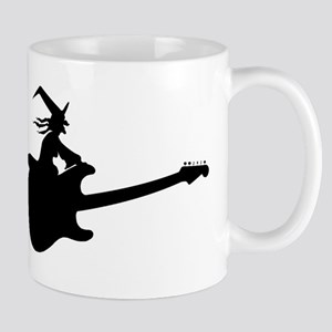 Guitar Witch Mugs