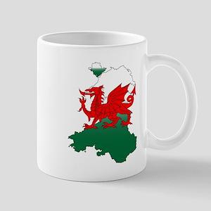 Wales and the Dragon Mugs