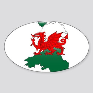 Wales and the Dragon Sticker