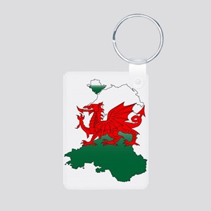Wales and the Dragon Keychains