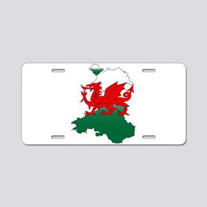 Wales and the Dragon Aluminum License Plate