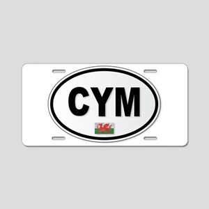 CYM Plate Aluminum License Plate