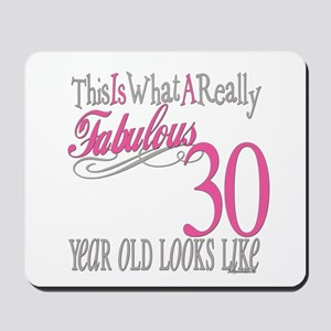 30th Birthday Gifts Mousepad
