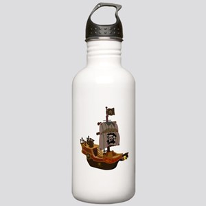 Pirate ship clip art Stainless Water Bottle 1.0L