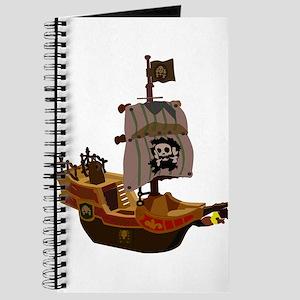 Pirate ship clip art Journal
