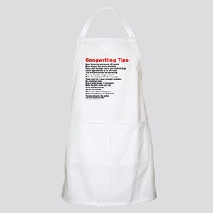 Songwriting Tips Apron