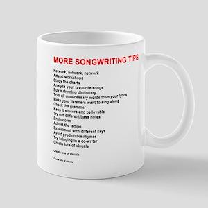 More Songwriting Tips Mugs