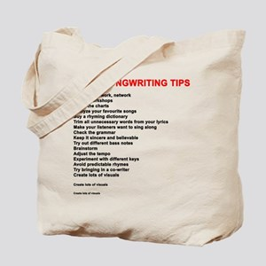 More Songwriting Tips Tote Bag