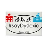 SayDyslexia Rally Magnets