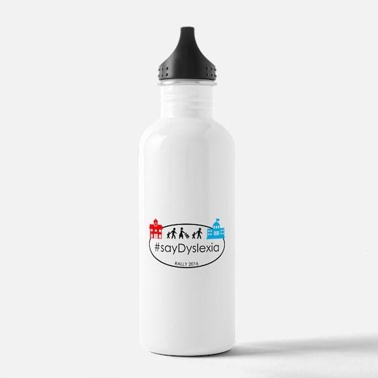 SayDyslexia Rally Water Bottle