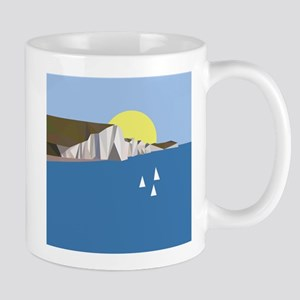 White Cliffs summer Mugs