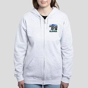 Alaskan Bear Women's Zip Hoodie