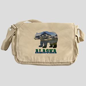 Alaskan Bear Messenger Bag