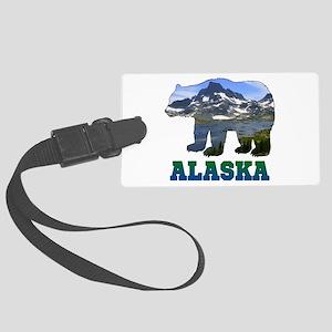 Alaskan Bear Large Luggage Tag