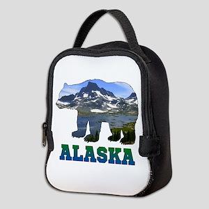 Alaskan Bear Neoprene Lunch Bag